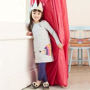 Other - Girl Cartoon Animal Long Sleeve Casual Dress